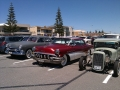 Classic cars at West Beach, Adelaide, SA