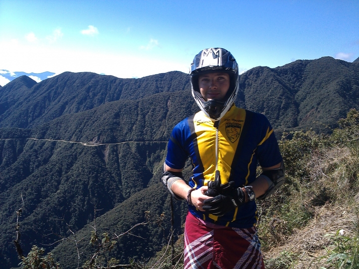 Cycle Challenge, Death Road, Bolivia