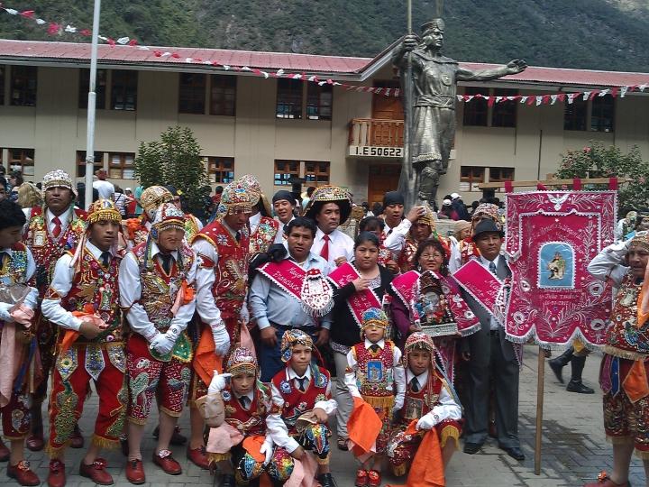 Virgen del Carmen Festival, Aguas Calientes, Peru