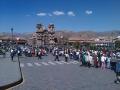 Parade in Plaza de Armas, Cuzco, Peru