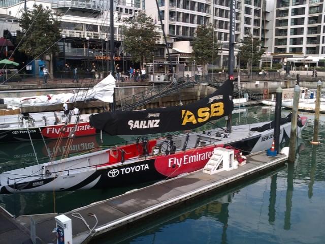 Team New Zealand Yacht, Auckland