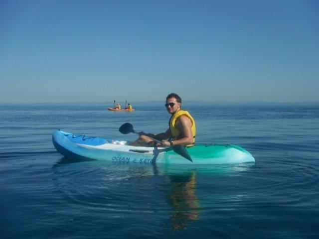 Ocean Kayaking at Tangalooma Resort, Moreton Island, QLD