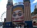 Luna Park entrance, Sydney