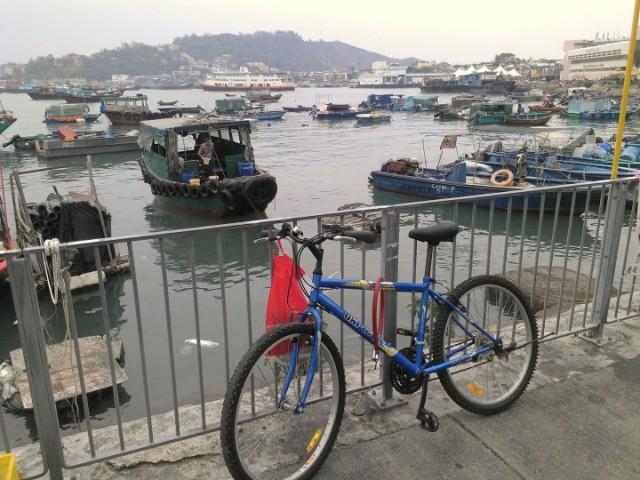 Rented Bicycle, Cheung Chau island, Hong Kong