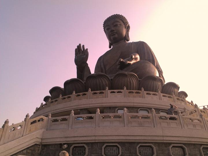 Tian Tan Buddha, Ngong Ping, Lantau Island, HK