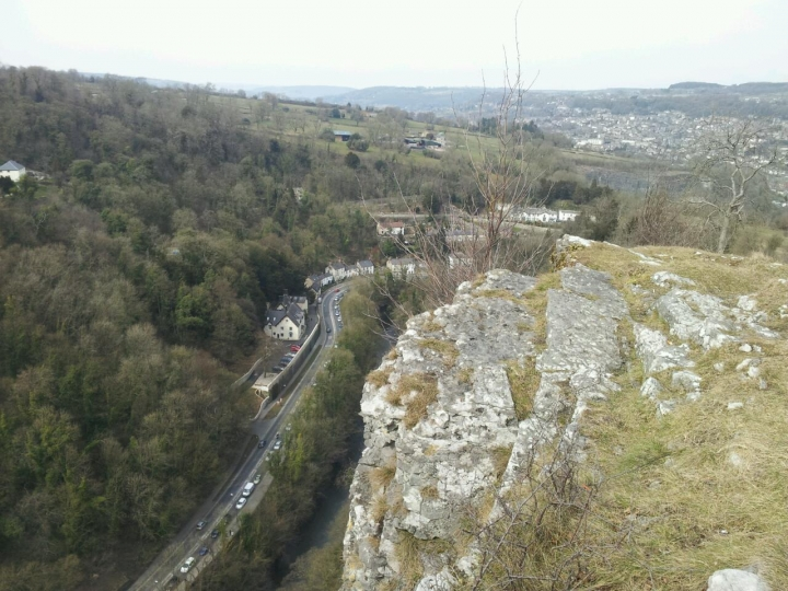 Top of High Tor, Matlock Bath, Peak District