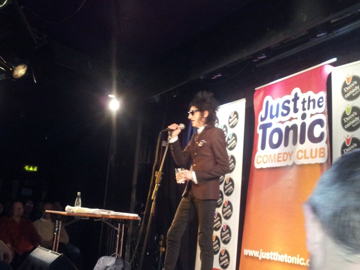 John Cooper Clarke at Leicester Comedy Festival