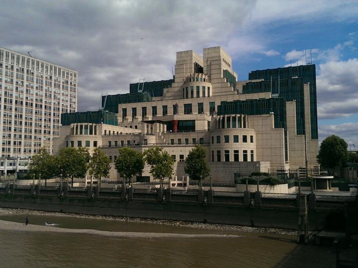 SIS/MI6 Headquarters, Vauxhall Cross, London