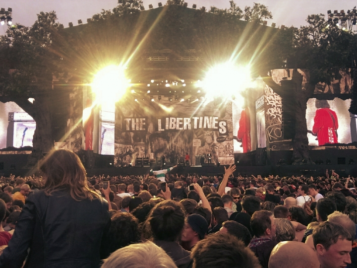 The Libertines at Hyde Park, London