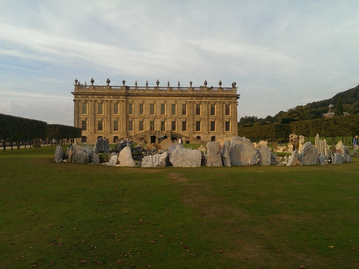 Chatsworth House Stately home, Bakewell, Derbyshire