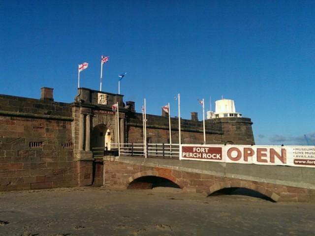 Fort Perch Rock, Wirral, Merseyside