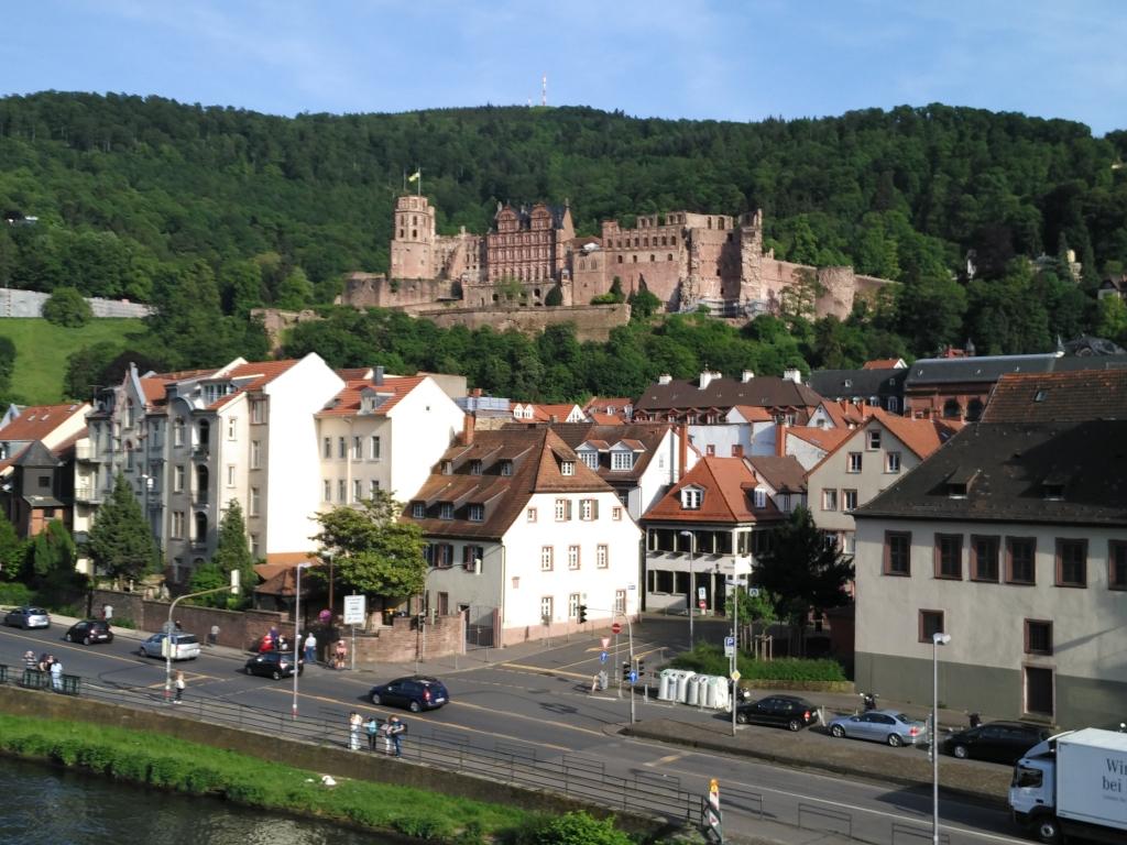 I can see Heidelberg Castle!