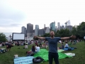 Movies with a view, Brooklyn Bridge Park, New York