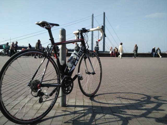 Cube Peloton, Rheinpark Bilk, Düsseldorf