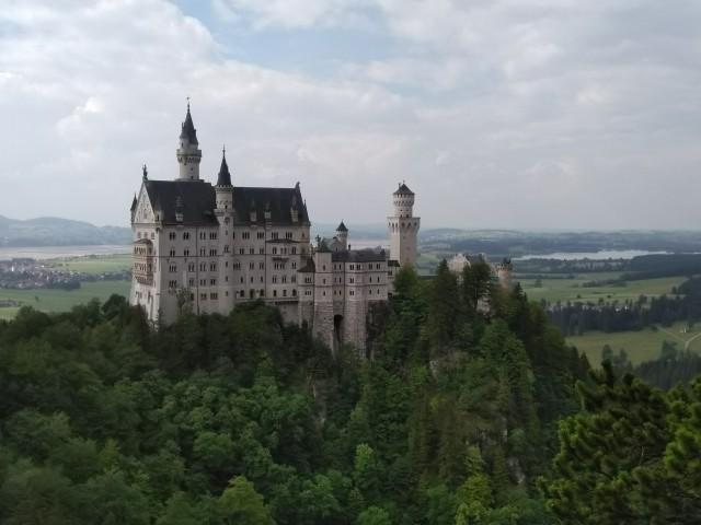 Schloß Neuschwanstein, Schwangau, Bayern