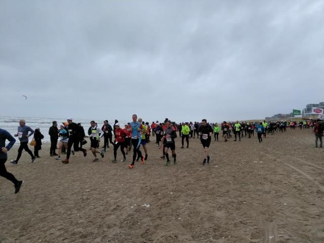 Egmond half marathon, Holland
