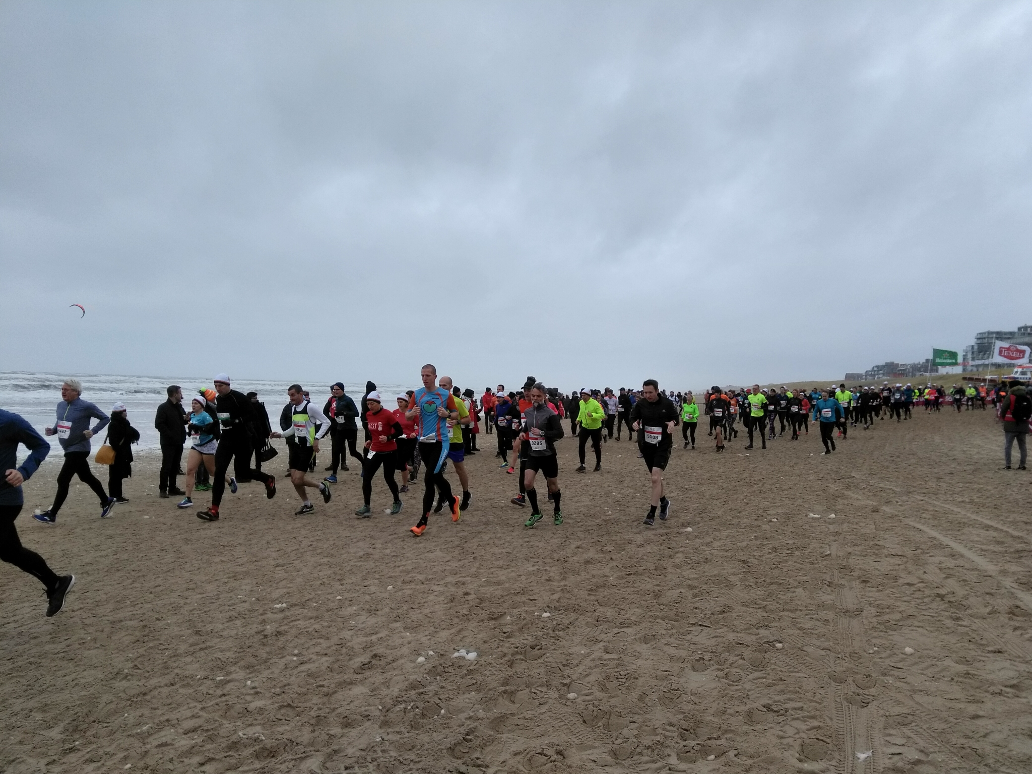 Egmond half marathon, Holland